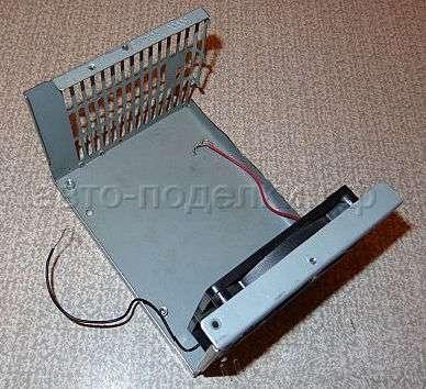 Обогреватель с вентилятором для авто