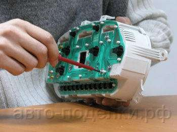 Тюнинг приборной панели фото