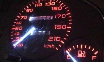 LED подсветка в приборку Audi 80
