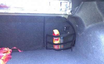 Карман в багажник на липучке