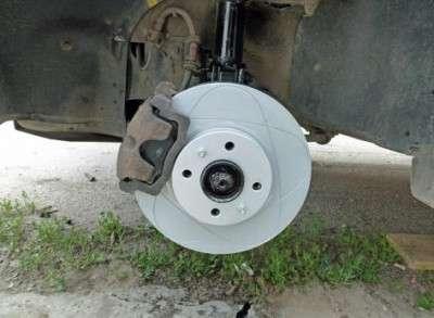 Ставим тормозные диски от иномарки на ВАЗ