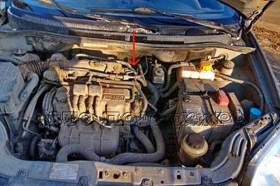 Chevrolet Aveo: ремонт датчика скорости