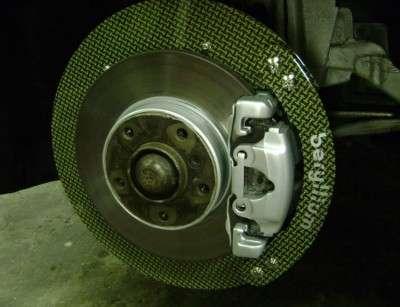 защищаем тормозные диски