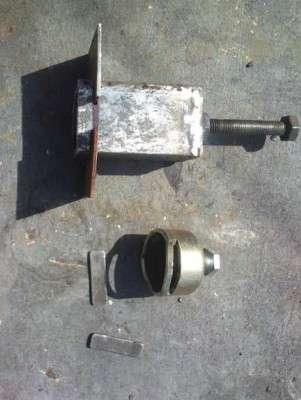 Cамодельный съемник подшипников генератора