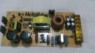 Простейший вариант зарядки автомобильного аккумулятора