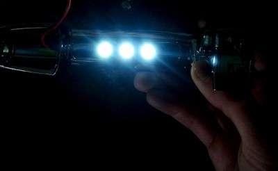 Дверные ручки с внутренней подсветкой своими руками