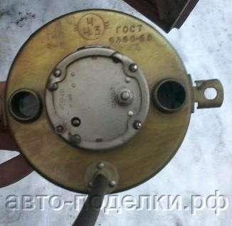 часы из машины Газ 21