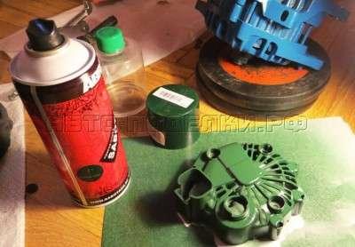 Реставрация и переборка генератора