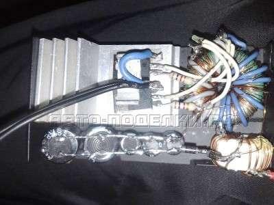 Автомобильный инвертор 12-220 50 ватт