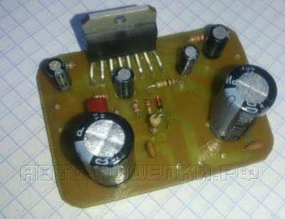 Усилитель для сабвуфера на TDA7294