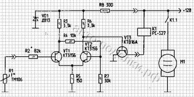 Делаем электронный датчик электровентилятора