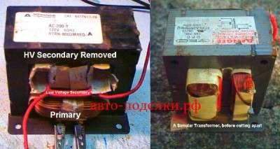 Инвертор 12В -110В/220В  на МОП - транзисторах