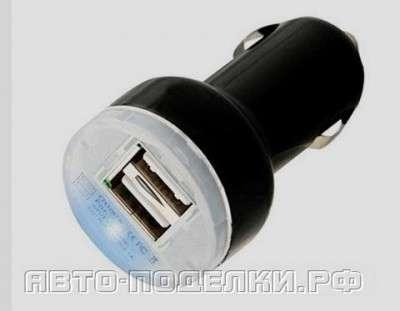 Встраиваем USB разъем для зарядки в авто