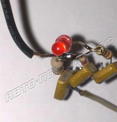 Схема сенсорного выключателя