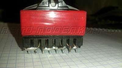 Трансформатор для мощного автомобильного инвертора