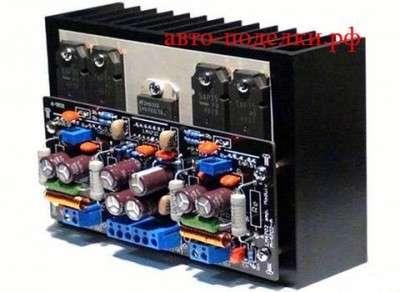 Стерео усилитель на МС серии LM4702 (A,B,C)