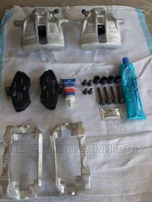 Чем очистить тормозные суппорта