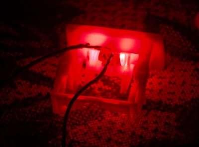 Подсветка замков ремней безопасности своими руками