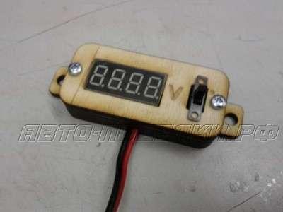 Индикатор напряжения аккумулятора своими руками