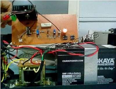 Зарядное устройство для аккумуляторов SMF 12В, 7.2 Ah