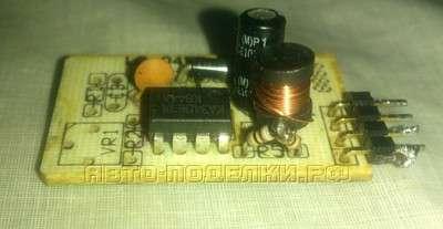 ЗУ для телефона от прикуривателя на MC34063
