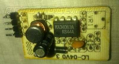 для телефона от прикуривателя на MC34063