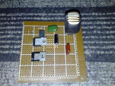 Автомобильный инвертор (12-220 В) на 100-400Вт