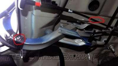 Делаем автоматическое открывание багажника