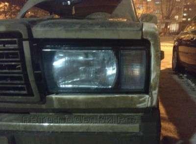 фара новая, а машина грязная.)))