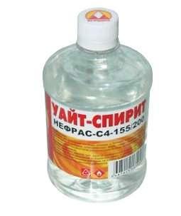 уайт-спирит в бутылке фото