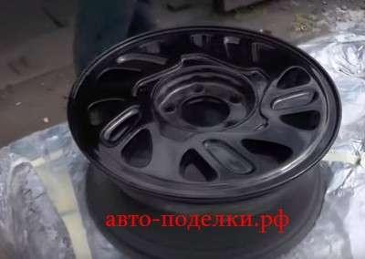 красим диски