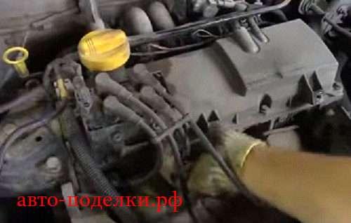 двигателя на Renault своими руками