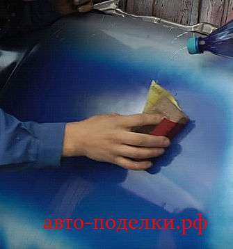 Предотвращение поднятие краски и потёка