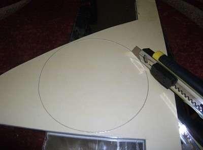 Колпачок центральный на литые диски своими руками