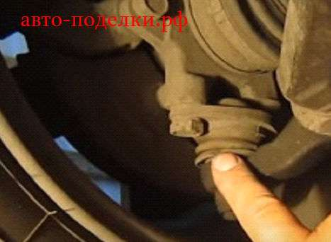 Замена шаровой опоры ВАЗ 2114